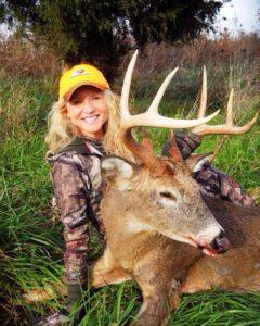 Brittany Maki Deer Hunting